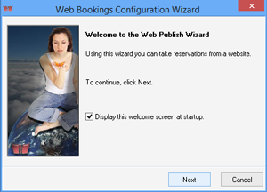 iMagic Hotel Reservation - Web Booking Wizard Screen
